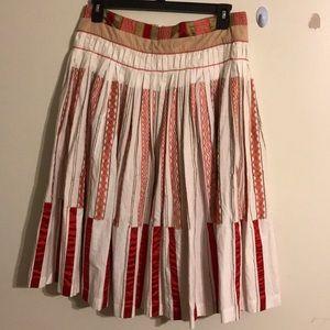 Dries van Noten Pleated Skirt